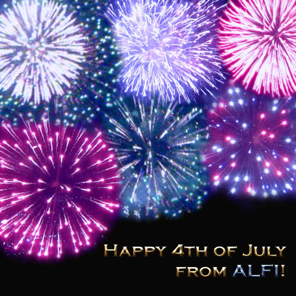 Happy 4th of July from ALFI!